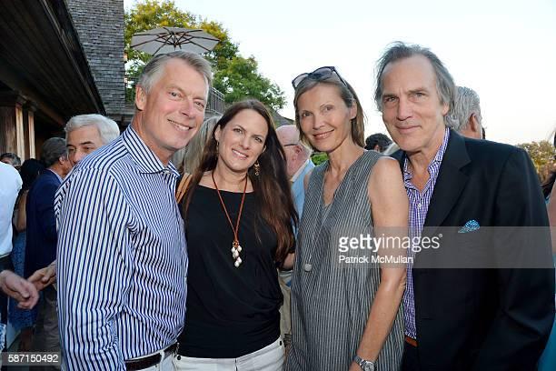 Richard Johnson Sessa von Richthofen Johnson Kirsten Wittenborn and Dirk Wittenborn attend Tom Diane Tuft and Christina Cuomo Celebrate the Launch of...