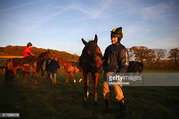 Richard Johnson Jockey Pictures and Photos - Getty Images