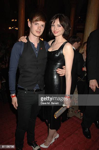 Richard Jones and Sophie EllisBextor arrive at the Life Ball 2008 Europe's largest Gala againts HIV and aids held at the Town Hall Square on May 17...