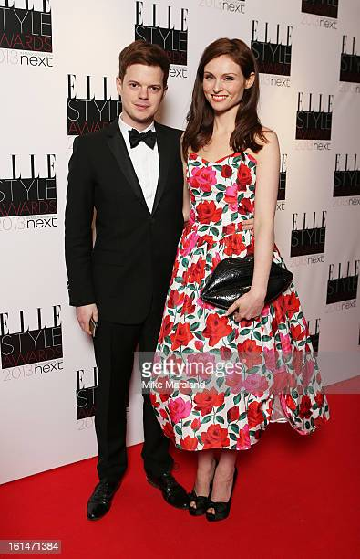 Richard Jones and Sophie EllisBextor attend the Elle Style Awards 2013 at The Savoy Hotel on February 11 2013 in London England