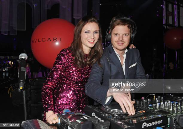 Richard Jones and Sophie EllisBextor attends CLUB LOVE for the Elton John AIDS Foundation in association with BVLGARI after party sponsored by...