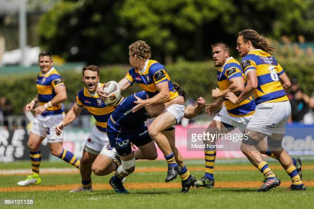 Richard Judd of the Steamers during the Mitre 10 Cup Semi Final match between Bay of Plenty and Otago on October 21 2017 in Tauranga New Zealand