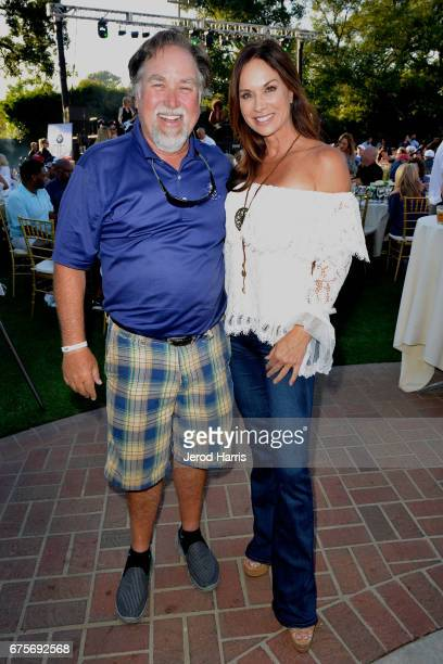 Richard Karn and Debbie Dunning attend the 10th Annual George Lopez Celebrity Golf Classic at Lakeside Country Club on May 1 2017 in Toluca Lake...