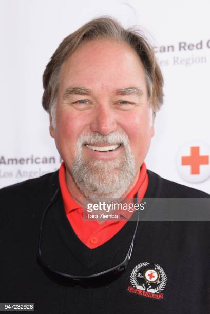 Richard Karn attends the Red Cross' 5th Annual Celebrity Golf Tournament at Lakeside Golf Club on April 16, 2018 in Burbank, California.