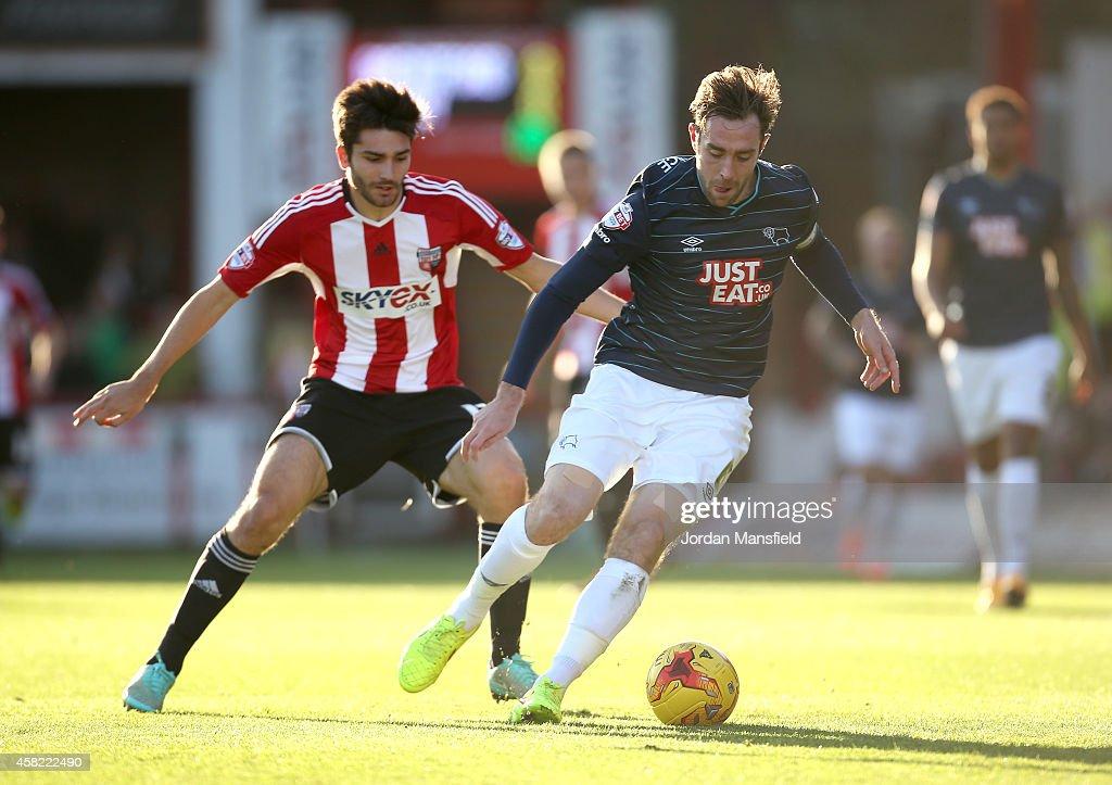 Brentford v Derby County - Sky Bet Championship : News Photo