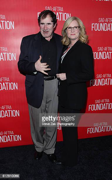 Richard Kind and Bonnie Hunt attend The Grand Opening Of SAG-AFTRA Foundation's Robin Williams Center at SAG-AFTRA Foundation Robin Williams Center...