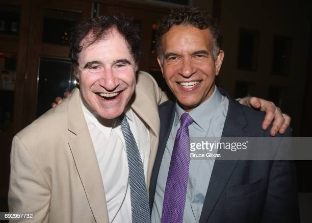 Richard Kind and Brian Stokes Mitchell pose at the 2017 Find Your Light Gala at City Winery on June 5 2017 in New York City