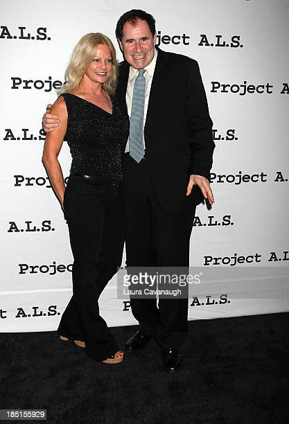 Richard Kind and Dana Stanley attend the Project ALS 15th Anniversary at Roseland Ballroom on October 17 2013 in New York City