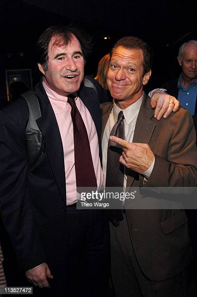 """Richard Kind and Joe Piscapo during The Creative Coalition Presents """"Art$, Education and the 21st Century"""" - Entertainment Industry Joins Forces with..."""