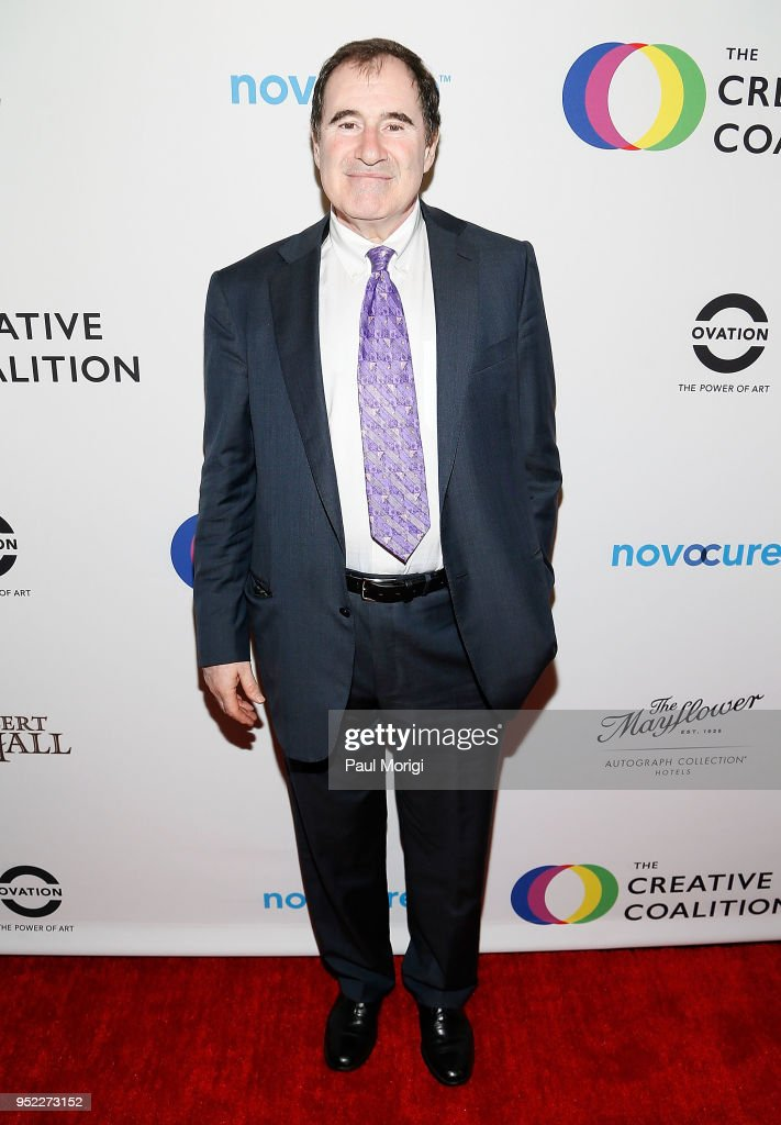 Richard Kind attends the Creative Coalition's 'Right To Bear Arts' Gala Fundraiser at The Mayflower Hotel on April 27, 2018 in Washington, DC.