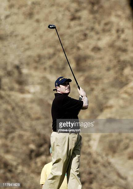 Richard Kind during 44th Bob Hope Chrysler Classic Round Four at Arnold Palmer Private Course at PGA West in La Quinta California United States