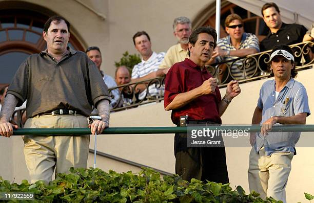 Richard Kind, Joe Mantegna and Ricky Dean Logan during The Autism Coalition's First Annual L.A. Celebrity Golf Challenge and Auction at Riviera...