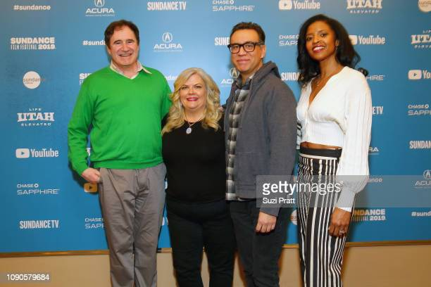 Richard Kind Paula Pell Fred Armisen and Renee Elise Goldsberry attend the Documentary Now Red Carpet Screening And After Party during the 2019...