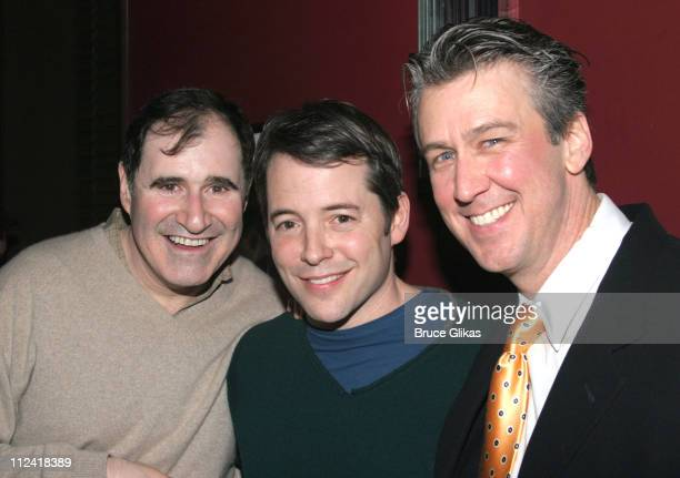 Richard Kind with Matthew Broderick and Alan Ruck who starred in 'Ferris Bueller's Day Off'