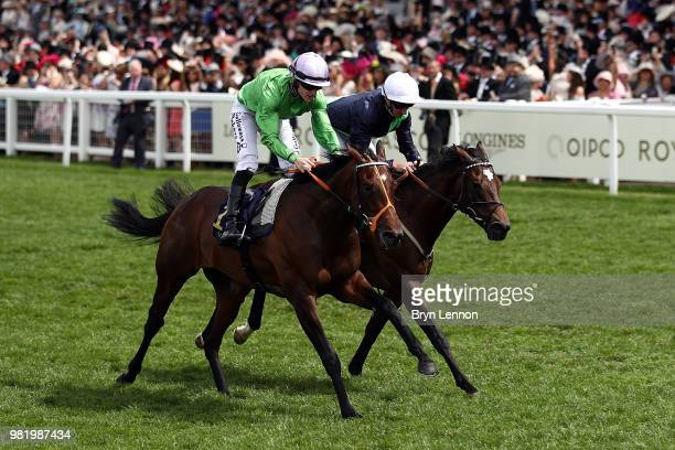 Richard Kingscote riding Arthur Kitt wins The Chesham Stakes on day 5 of Royal Ascot at Ascot Racecourse on June 23, 2018 in Ascot, England.