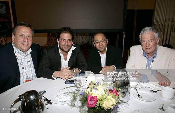 Richard Kiratsoulis Brett Ratner Sammy Lee and Mark Damon