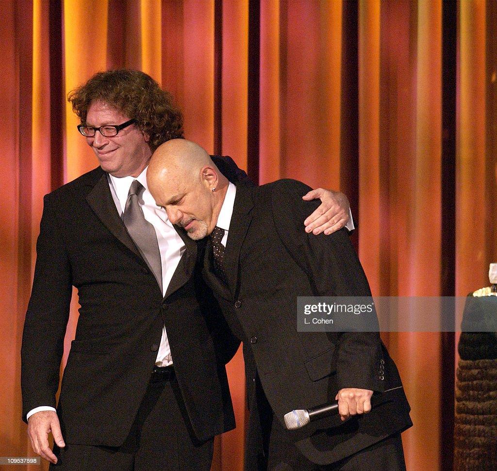 Richard Kirk Award recipient Randy Edelman,Director Rob Cohen