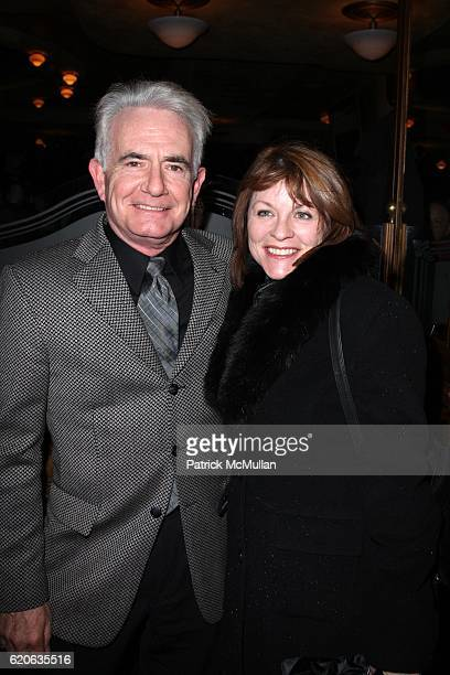 Richard Kline and Sandy Molloy attend The Opening Night of NOVEMBER at Ethel Barrymore Theatre on January 17 2008 in New York City