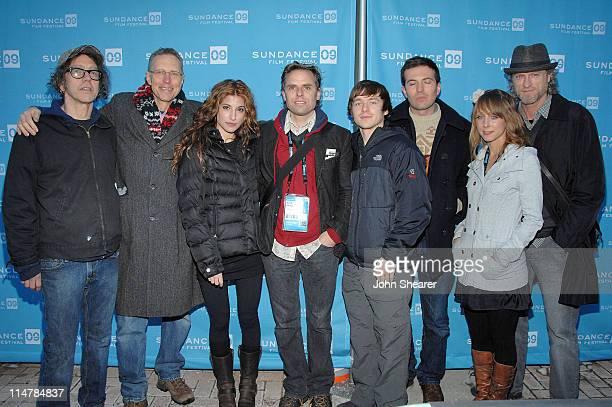 Richard Lafebvre Matt Smith Tania Raymonde David Russo Marshall Allman Tygh Runyan Agatha Nowicki and Russell Hodgkinson attend a screening of The...