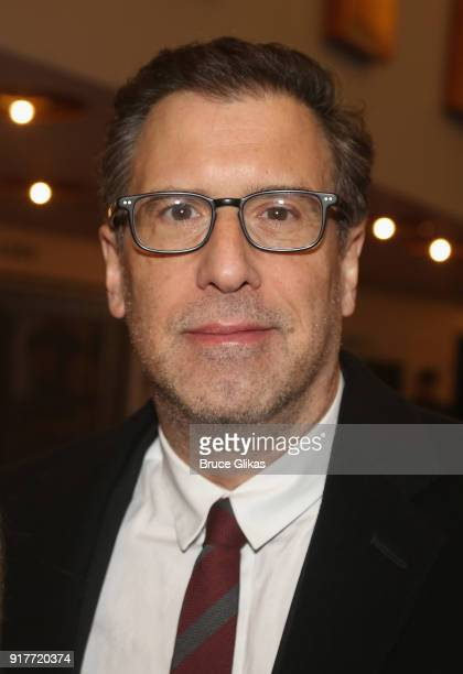 Richard LaGravenese poses at the 'Thoroughly Modern Millie' 15th Anniversary Reunion Concert at The Minskoff Theater on February 12 2018 in New York...