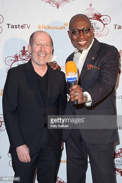 Richard Landry and Rahn Fudge arrive at the 7th Annual Taste Awards at the Castro Theatre on February 11 2016 in San Francisco California
