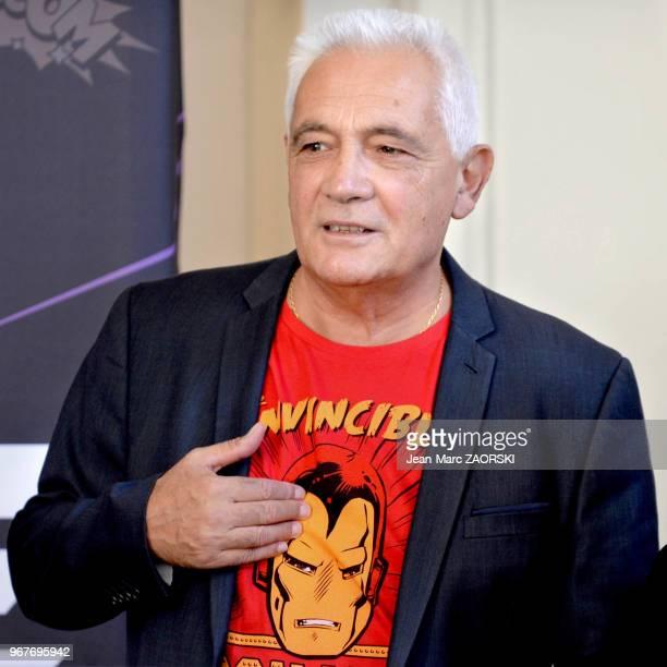 Richard Latiere directeur des manifestations de la foire de Marseille lors de la conférence de presse de la Foire internationale de Marseille le 14...