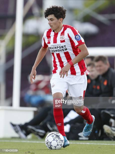 Richard Ledezma of PSV during a international friendly match between PSV Eindhoven and KAS Eupen at Aspire Academy on January 11, 2020 in Doha, Qatar