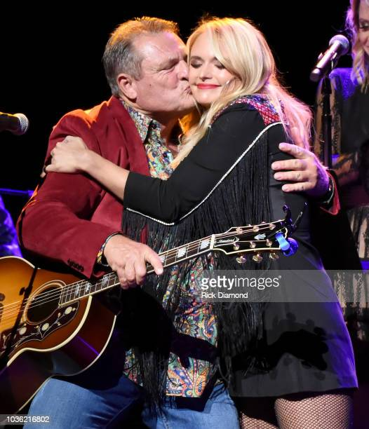 Richard Lee Lambert and Miranda Lambert performs onstage to kick off her sold out residency at The Country Music Hall of Fame and Museum on September...