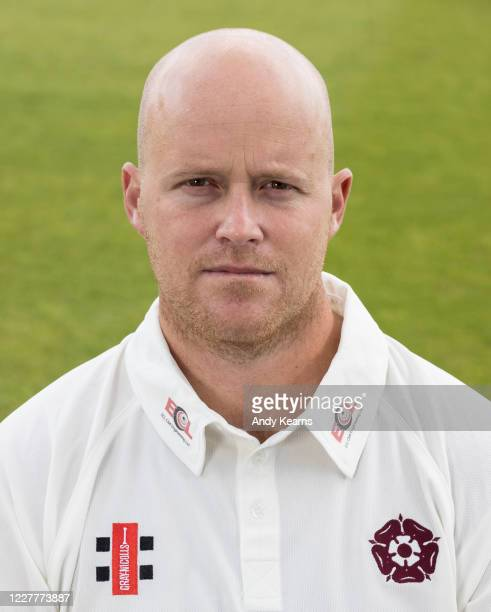 Richard Levi of Northamptonshire during the Northamptonshire County Cricket Club Photo Shoot at The County Ground on July 10 2020 in Northampton...