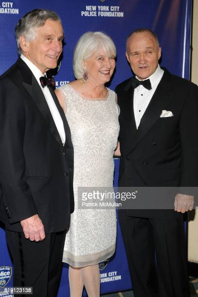 Richard Levine Helen Levine and Commissioner Raymond Kelly attend NEW YORK CITY POLICE FOUNDATION 32nd Annual Gala at Waldorf=Astoria on March 16...