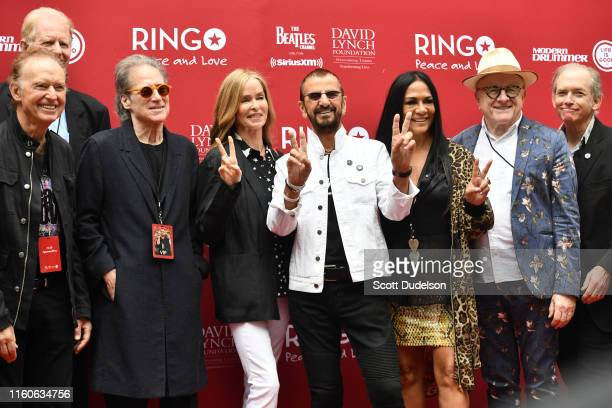 Richard Lewis Barbara Bach Ringo Starr Sheila E and Peter Asher attend the 11th Annual Peace and Love Birthday Celebration honoring Ringo Starr's...