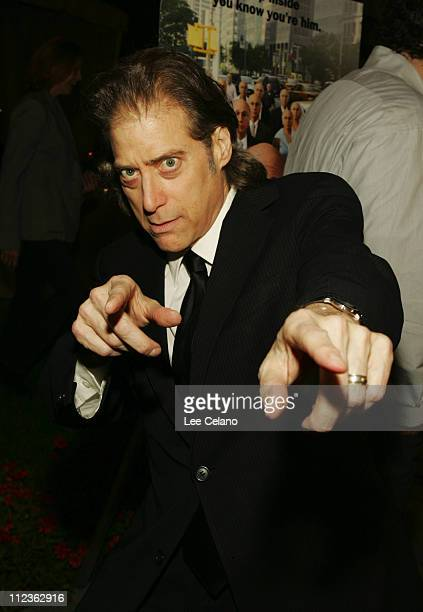 """Richard Lewis during """"Curb Your Enthusiasm"""" Season 5 Los Angeles Premiere - Red Carpet at Paramount Studios in Hollywood, California, United States."""