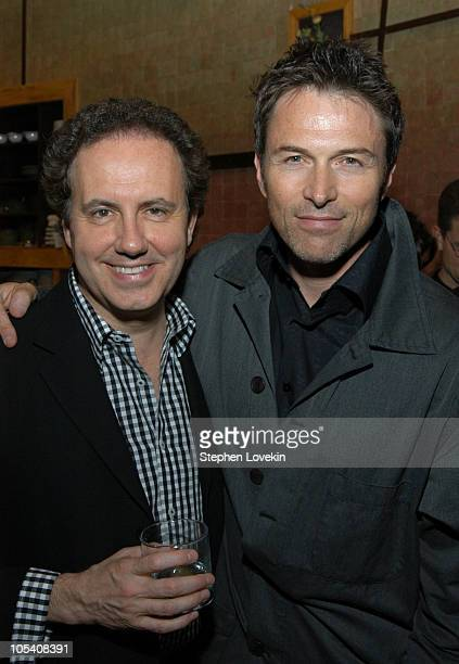 Richard Licata executive vice president of Showtime Publicity and Tim Daly