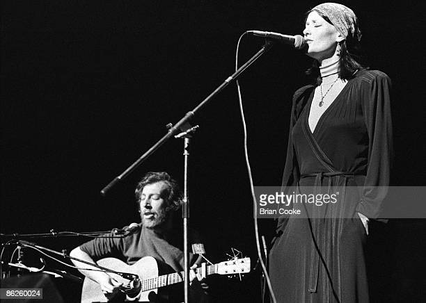 Richard Linda Thompson performing at 'Over The Rainbow' a concert marking the first closure of The Rainbow Theatre Finsbury Park North London on...