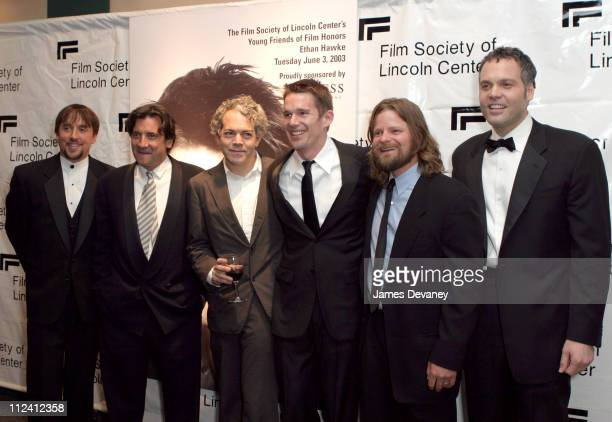 Richard Linklater, Michael Almereyda, Ethan Hawke, Steve Zahn and Vincent D'Onofrio