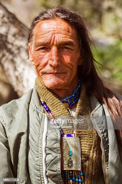 """Richard Lonewolf Legan is a Native American man involved in teaching wilderness survival skills. He wrote a book called """"Wilderness Survival Manual""""..."""