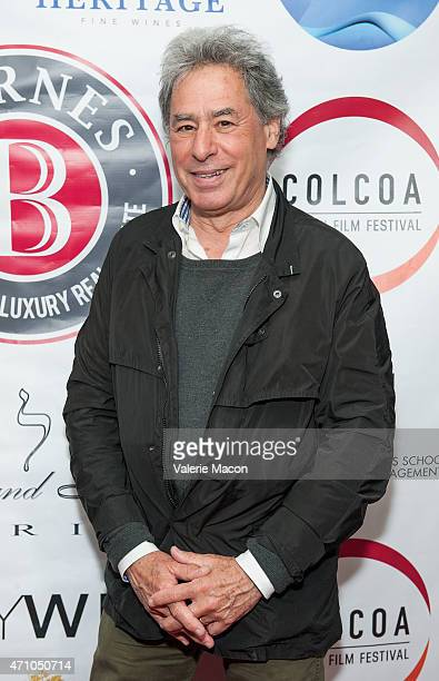 Richard Lorber arrives at COLCOA French Film Festival Barnes After Party at Heritage Fine Wines on April 24 2015 in Beverly Hills California