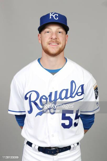 Richard Lovelady of the Kansas City Royals poses during Photo Day on Thursday February 21 2019 at Surprise Stadium in Surprise Arizona