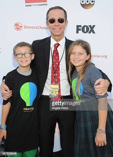 Richard Lovett of CAA attends the Think It Up education initiative telecast for teachers and students hosted by Entertainment Industry Foundation at...