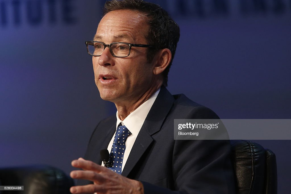 Richard Lovett, president of Creative Artists Agency Inc. (CAA), speaks during the annual Milken Institute Global Conference in Beverly Hills , California, U.S., on Wednesday, May 4, 2016. The conference gathers attendees to explore solutions to today's most pressing challenges in financial markets, industry sectors, health, government and education. Photographer: Patrick T. Fallon/Bloomberg via Getty Images