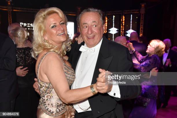 Richard Lugner and Sonja Schoenanger attend the 117th Press Ball on January 13 2018 in Berlin Germany