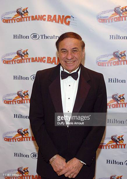 """Richard M. Sherman during """"Chitty Chitty Bang Bang"""" Broadway Opening Night - Curtain Call and After Party at The Hilton Theatre and Hilton New York..."""