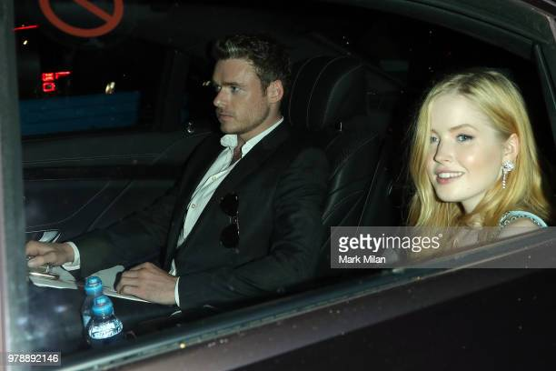 Richard Madden and Ellie Bamber attending the Serpentine Gallery and Chanel Summer Party 2018 on June 19 2018 in London England