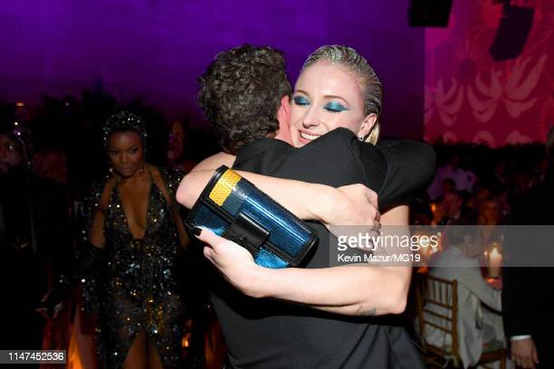 Richard Madden and Sophie Turner attend The 2019 Met Gala Celebrating Camp Notes on Fashion at Metropolitan Museum of Art on May 06 2019 in New York...