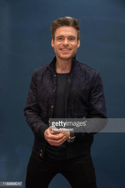 "Richard Madden at the ""Rocketman"" Press Conference at the Corinthia Hotel on May 20, 2019 in London, England."