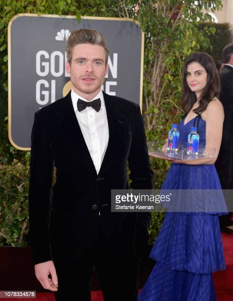 Richard Madden attends FIJI Water at the 76th Annual Golden Globe Awards on January 6 2019 at the Beverly Hilton in Los Angeles California