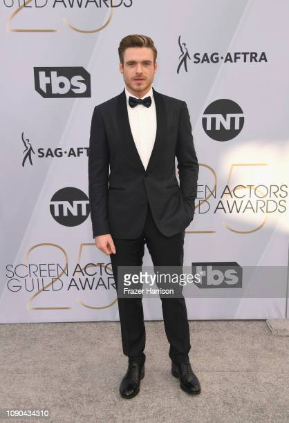 Richard Madden attends the 25th Annual Screen ActorsGuild Awards at The Shrine Auditorium on January 27 2019 in Los Angeles California