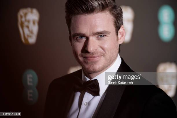 Richard Madden attends the EE British Academy Film Awards at Royal Albert Hall on February 10, 2019 in London, England.