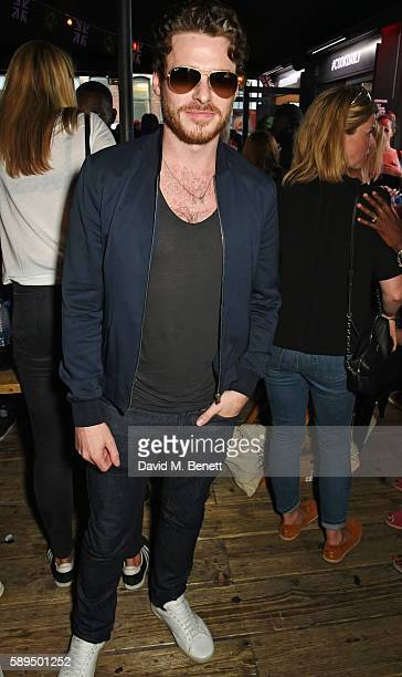 Richard Madden attends the launch of the new Idris Elba Superdry Boxpark retail space on August 14 2016 in London England