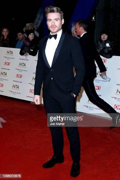 Richard Madden attends the National Television Awards held at The O2 Arena on January 22 2019 in London England